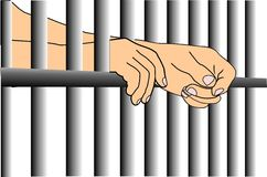 Jail to freedom Royalty Free Stock Photography