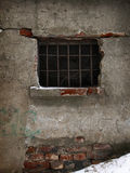 Jail window Royalty Free Stock Images