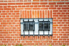 Jail window Royalty Free Stock Photos