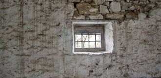 Jail window Royalty Free Stock Photography
