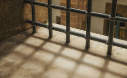 Jail window Stock Photography