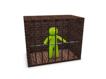 Jailed Royalty Free Stock Photography