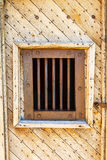 Jailhouse Bars And Doors. Ghost Town Jailhouse Bars And Doors Stock Image