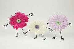 Jaillit les amis la floraison neufs Image stock