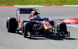 Jaime Alguersuari (Toro Rosso) Royalty Free Stock Photo