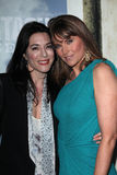 Jaime Murray, Lucy Lawless. Jaime Murray and Lucy Lawless  at the Spartacus: Vengeance Premiere Screening, Arclight, Hollywood, CA 01-18-12 Stock Photo