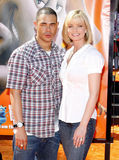 Jaime Pressly and DJ Eric Cubiche Royalty Free Stock Photo