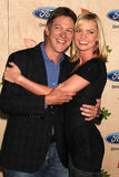 Jaime Pressly, Kevin Rahm Stock Photo