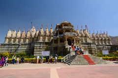jain ναός Ranakpur Rajasthan Ινδία Στοκ εικόνα με δικαίωμα ελεύθερης χρήσης