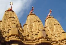 Jain висок в Индии, Джайнизме стоковое изображение