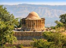 Jain висок в форте Kumbhalgarh, Раджастхан, Индия Стоковое фото RF
