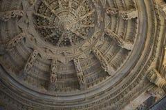 Jain висок в Ranakpur, Индии, Раджастхане Chaumukha Mandir стоковые фото
