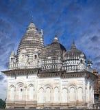 Jain висок Khajuraho в Индии Стоковые Изображения RF