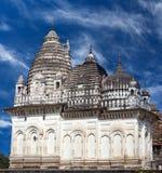 Jain висок Khajuraho, Индии Стоковое Изображение
