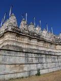 Jain faith temple. Adinath Temple in Ranakpur,India Royalty Free Stock Photography