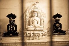 Jain Idole lizenzfreies stockfoto