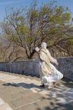 Jain magdalenka na parikrama, chodząca pielgrzymka Obraz Stock