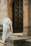 Jain nun in India Royalty Free Stock Images