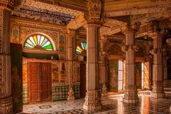 Jain Tempel Bhandasar stockbild