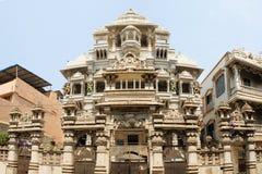 Jain tempel i Chennai, Indien Arkivfoto