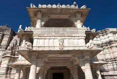Jain Tempel in Ranakpur, Indien Lizenzfreies Stockfoto