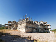 Jain Tempel in Ranakpur, Indien Stockfotos