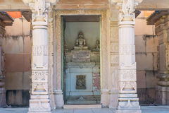Jain Temple Carvings Royalty Free Stock Photography