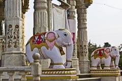 Jain temple Stock Photography