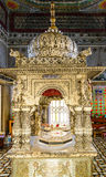 Jain temple interior, Calcutta, India Stock Photo