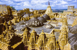 Jain Temple in Jaisalmer Stock Image