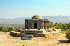 Jain temple in kumbhalgarh fort Royalty Free Stock Image