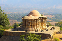 Jain temple in kumbhalgarh fort Royalty Free Stock Images