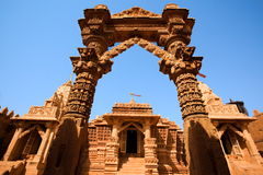 Jain temple of lodruva jaisalmer Royalty Free Stock Photo