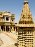 Jain temple of Loudvra. Stock Images