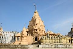 Jain temple in Palitana, India Royalty Free Stock Photo