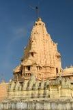 Jain temple in Palitana, India Stock Photo