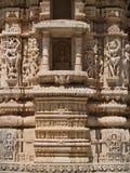 Jain Temple in Ranakpur Stock Photo