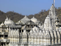 Jain Temple - Ranakpur - India Royalty Free Stock Images