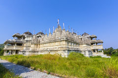 Jain Temple in Ranakpur,India Royalty Free Stock Image