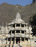 Jain Temple - Ranakpur - Rajasthan - India. royalty free stock image