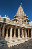 Jain temple in Ranakpur. Rajasthan, India Royalty Free Stock Image