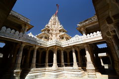 Jain temple. Ranakpur. Rajasthan. India Royalty Free Stock Photos