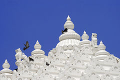 Jain temple tower Royalty Free Stock Photos