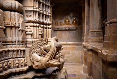Jain temples in Jaisalmer fort Royalty Free Stock Photography