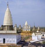 Jain Temples - Sonagiri - India Stock Image