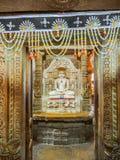 Jainism bóg statua zdjęcie royalty free