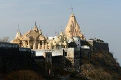 Jaintempel in Palitana, India Stock Foto