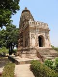 Jaintempels in Khajuraho Oostelijke groep Khajuraho-tempels, Madhya Pradesh, India stock afbeeldingen