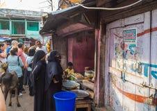 Jaipur, Índia, cenas diárias de povos locais foto de stock