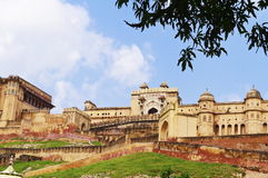 Jaipur Amber Fort. Beautiful view of Amber fort at Amer Royalty Free Stock Image
